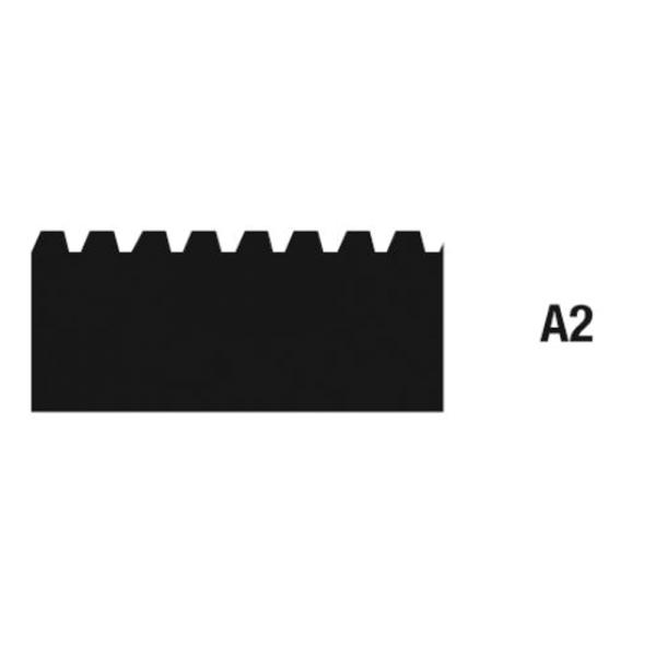 Wolff Zahnleisten Zahnung A2 21cm auf Bodentools.de