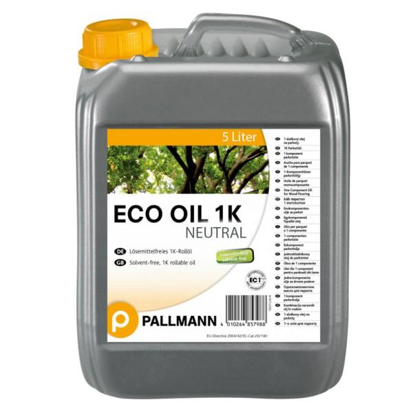 Pallmann Eco Oil NEUTRAL 1K Parkett Rollöl 5 Liter auf Bodenchemie.de