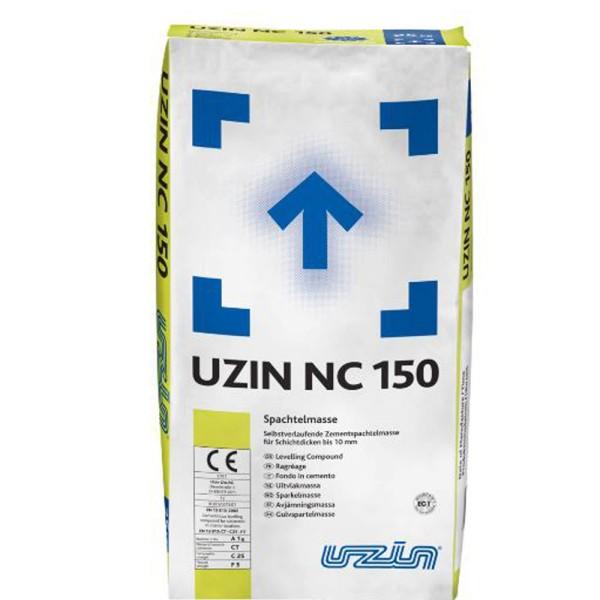 UZIN NC 150 Selbstverlaufende Zementspachtelmasse auf Bodenchemie.de