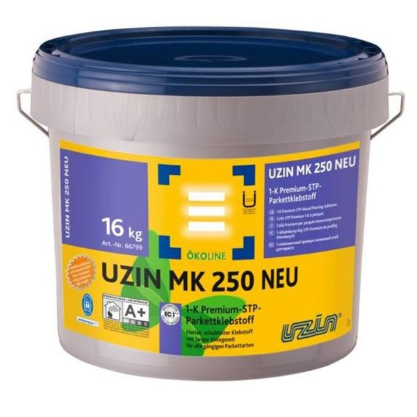 UZIN MK 250 Harter, schubfester Klebstoff für alle gängigen Parkettarten auf Bodenchemie.de