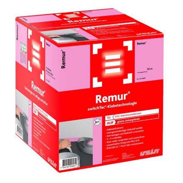 Uzin switchtec Remur 45 Spezial Sockelband für PVC-Weichsockelleisten auf Bodenchemie.de