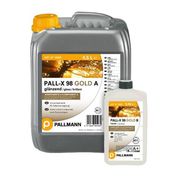 Pallmann PALL-X 98 GOLD glänzend 2K-Parkettversiegelung 4.95L auf DeinBoden24.de