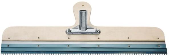 Rakel 56cm rostfrei mit Stielhalter zum Aufbringen von Ausgleichsmasse