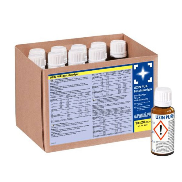 Uzin Beschleuniger für 2-K PUR-Klebstoffe und 2-K PUR-Spachtelmassen auf Bodenchemie.de