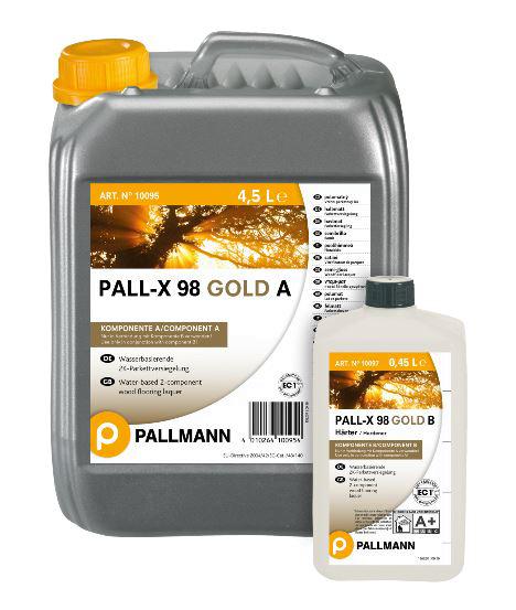 Palmann PALL-X 98 GOLD matt 2K-Parkettversiegelung 4.95L auf DeinBoden24.de