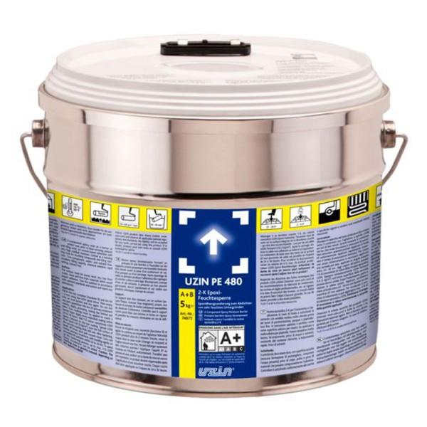 UZIN PE 480 NEU 2-K Epoxi-Feuchtesperre 5kg auf Bodenchemie.de