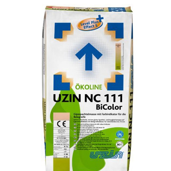 UZIN NC 111 BiColor Gipsspachtelmasse mit Indikator auf Bodenchemie.de