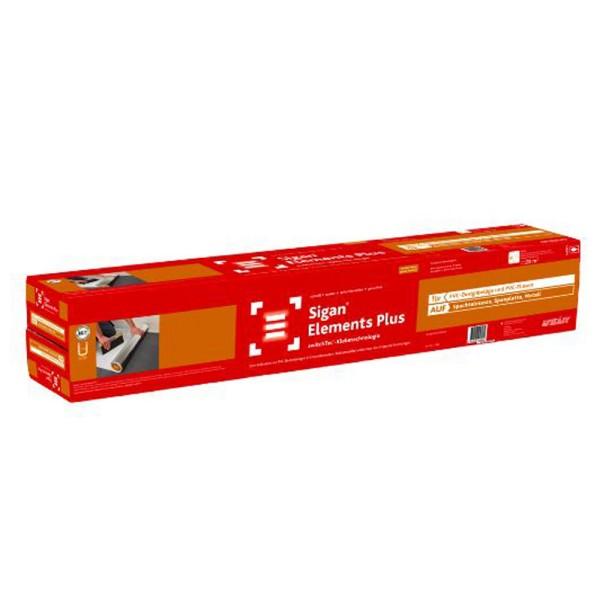 Uzin switchtec Elements Plus Neue PVC-Beläge in Einzelelementen maßstabil auf Spachtelmasse, Spanplatte, Metall schnell klebenauf Bodenchemie.de