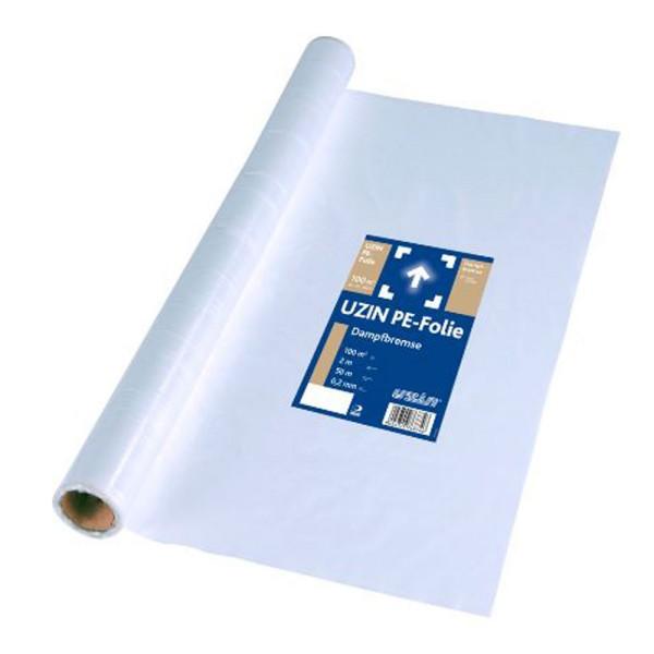 UZIN PE-Folie Faltenfreie 200 μm PE-Dampfbremse unter schwimmenden Konstruktionen auf Bodenchemie.de