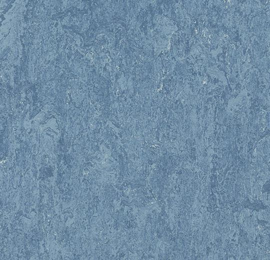 Linoleum Forbo Marmoleum Real 2.5mm - Farbe: 3055 Fresco blue auf DeinBoden24.de