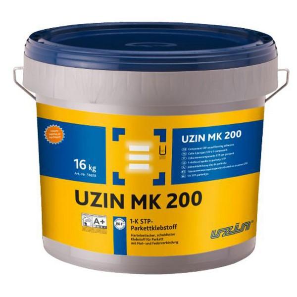 UZIN MK 200 Hartelastischer Klebstoff für Parkett mit Nut- und Federverbindung auf Bodenchemie.de