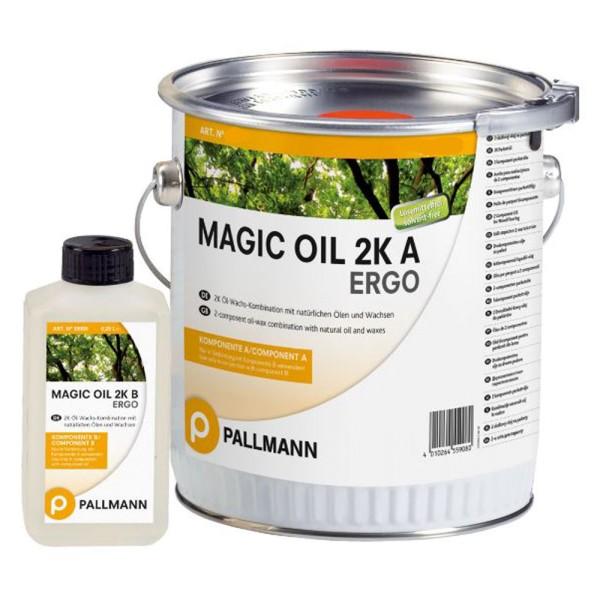 Pallmann Magic Oil 2k ERGO 2k-Parkettöl-Wachs-System 1 L auf DeinBoden24.de