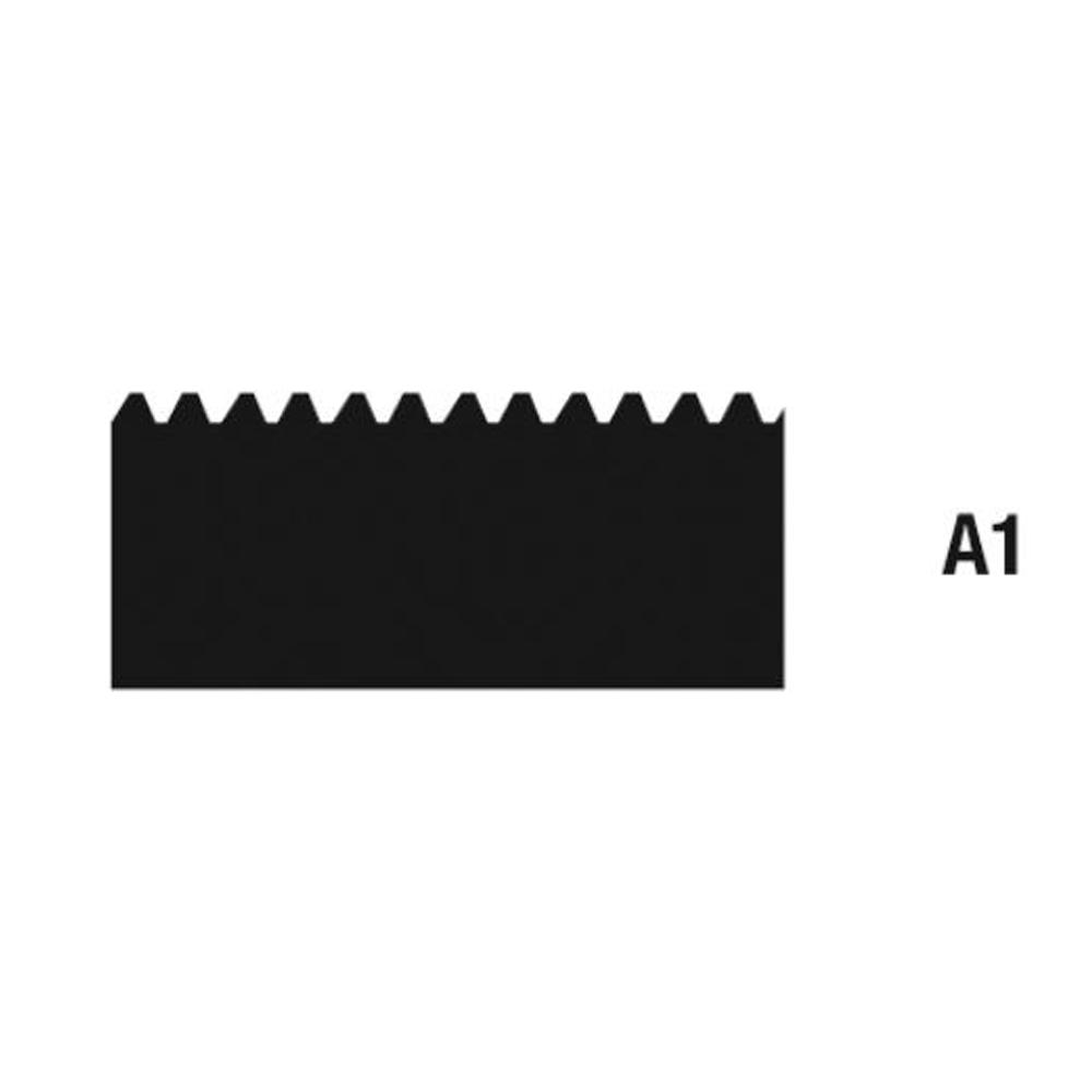 """10 Zahnleisten á 28 cm Breite Zahnleiste /""""A1/"""" nach TKB für Mutterspachtel"""
