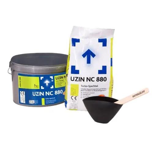 UZIN NC 880 Schneller Reparaturspachtel zum Feinausgleich und Füllen vor Bodenbelagsarbeiten auf Bodenchemie.de