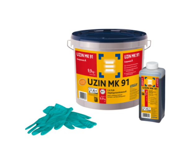 UZIN MK 91 2-K PUR-Objektparkettklebstoff 11kg günstig online kaufen auf DeinBoden24.de
