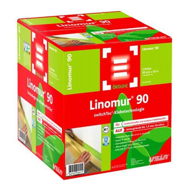 Uzin switchtec Linomur 90 Hochleistungs-Spezialklebeband für Linoleum auf Bodenchemie.de