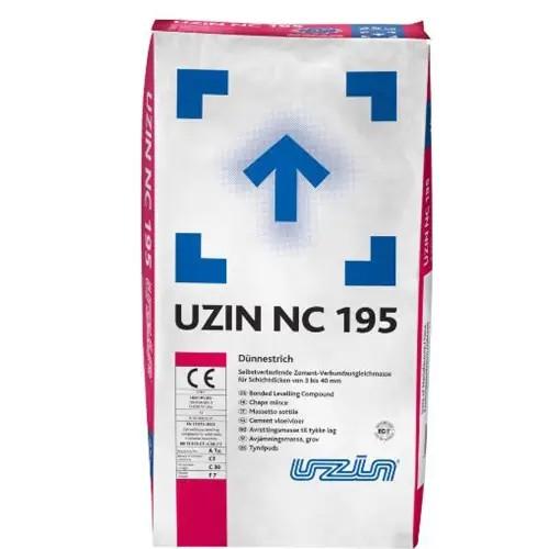 UZIN NC 195 selbstverlaufender zementärer Dünnestrich