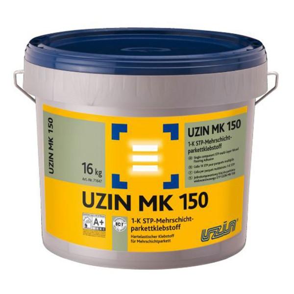UZIN MK 150 Hartelastischer Klebstoff für Mehrschichtparkett auf Bauchemie.de