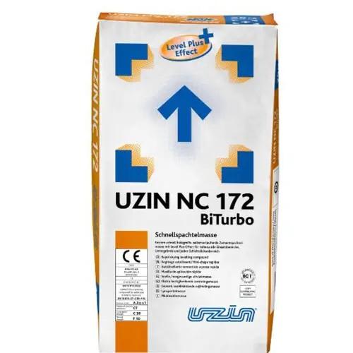 UZIN NC 172 BiTurbo Extrem schnell belegreife, selbstverlaufende Zementspachtelmasse mit Level Plus Effect