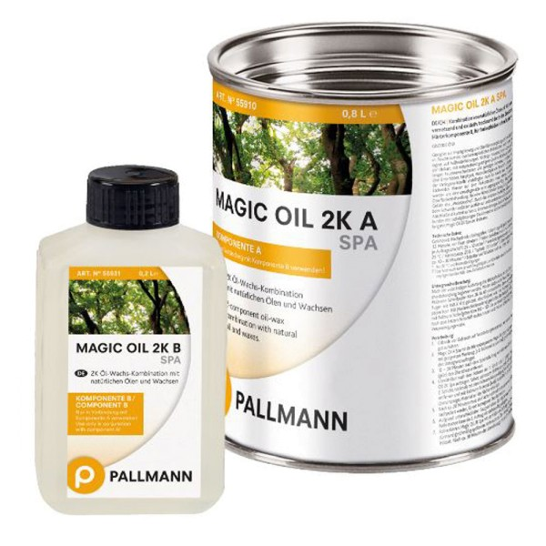 Pallmann MAGIC OIL 2K SPA High-Solid 2-Komponenten Parkettöl 1 Liter auf DeinBoden24.de