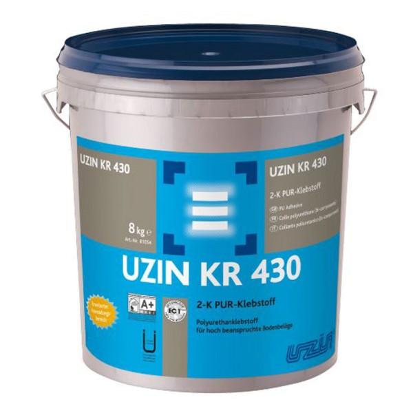 UZIN KR 430 Polyurethanklebstoff für hoch beanspruchte Bodenbeläge 8kg auf Bodenchemie.de