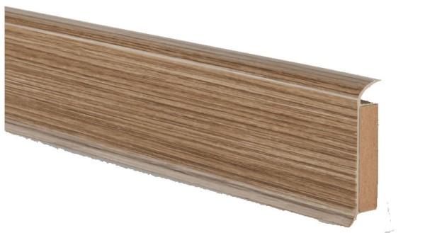 Döllken EP 60/13 Farbe: 2407 european oak Kernsockelleiste
