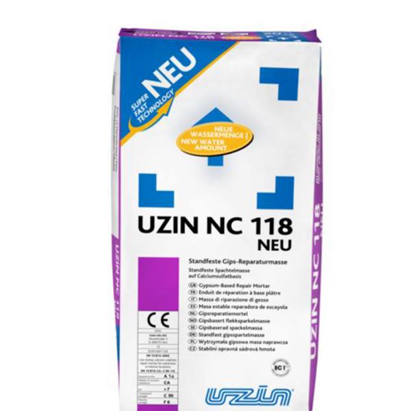 Uzin NC 118 standfeste Gipsspachtelmasse auf Bodenchemie.de