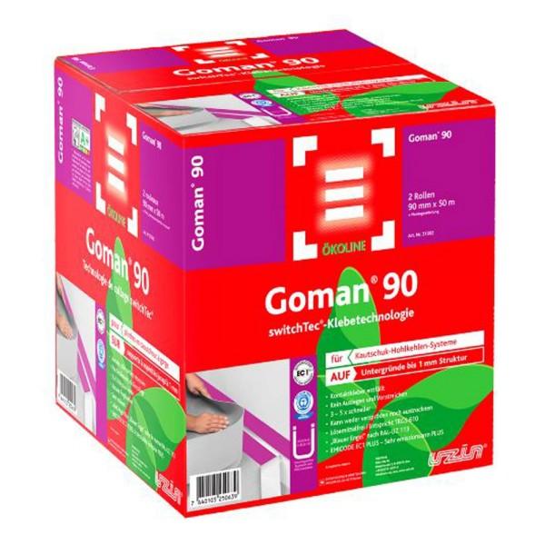 Uzin Switchtec Goman 90 Spezial Sockelband für Kautschuk-Hohlkehlen-Systeme auf Bodenchemie.de