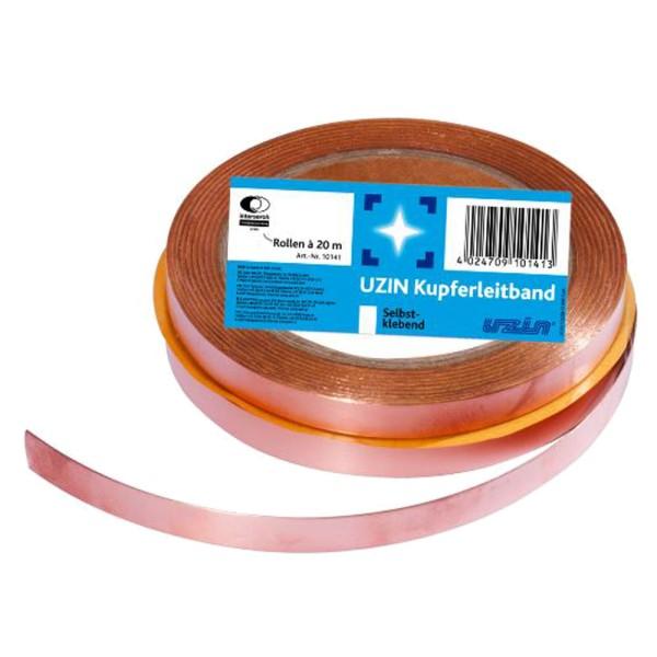 Uzin Einseitig selbstklebendes Kupferleitband für leitfähige Fußbodenkonstruktionenauf Bodenchemie.de