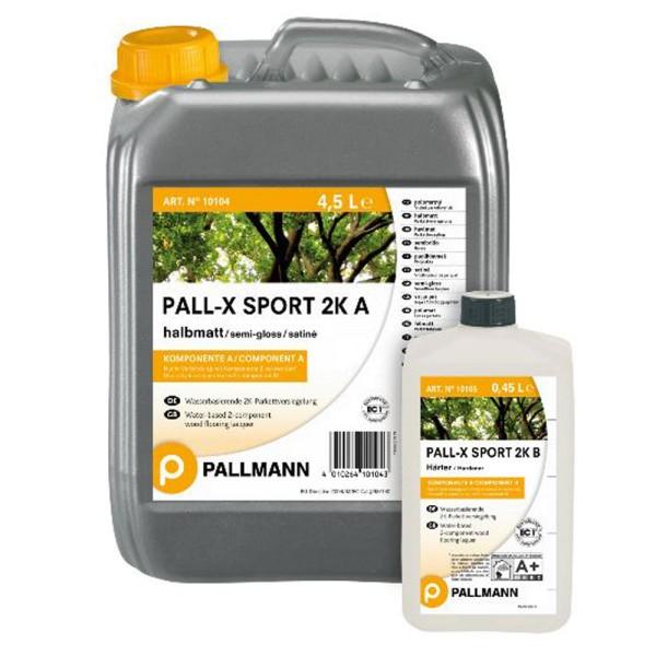 Pallmann PALL-X SPORT 2K Sportbodenversiegelung halbmatt 4,95 Liter auf Deinboden24.de